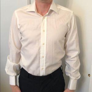 Italian shirt 100%cotton 14,5 slim fit